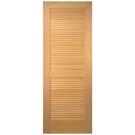 louvered closet doors 28 x 80 masonite 32 in x 80 in smooth louver solid