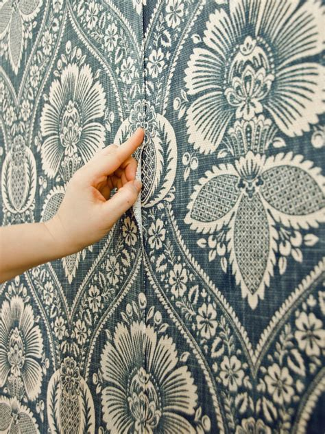 How To Install A Fabric Feature Wall Hgtv