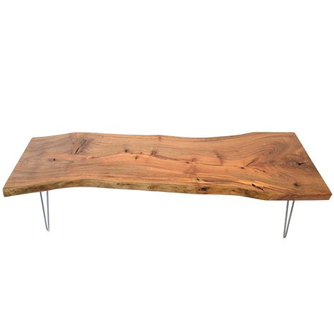 I ordered it with a solid wood top with a natural edge. Natural Light Live Edge Solid Wood Slab Tree Shape Coffee ...