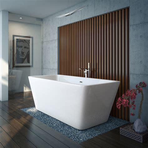 valencia  square modern freestanding bath victorian