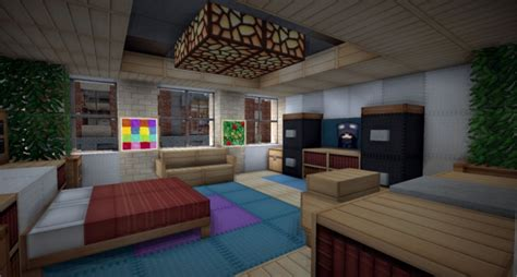 Minecraft Bedroom Pictures by 20 Minecraft Bedroom Designs Decorating Ideas Design
