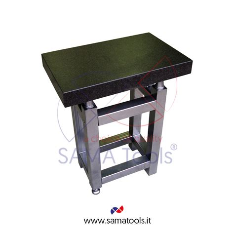 sa95 granite inspection surface plate including table