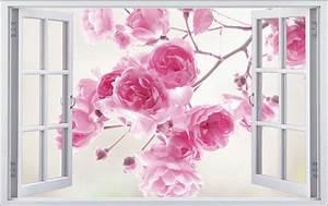 Rose, Blume, Flower, Natur, Wandtattoo, Wandsticker