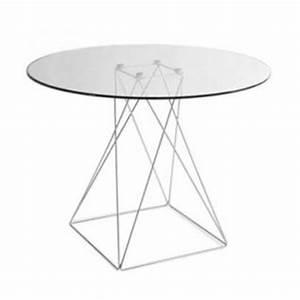 Tisch Rund Glas : tisch modern rund glas tischplatte kaufen bei richhomeshop ~ Frokenaadalensverden.com Haus und Dekorationen