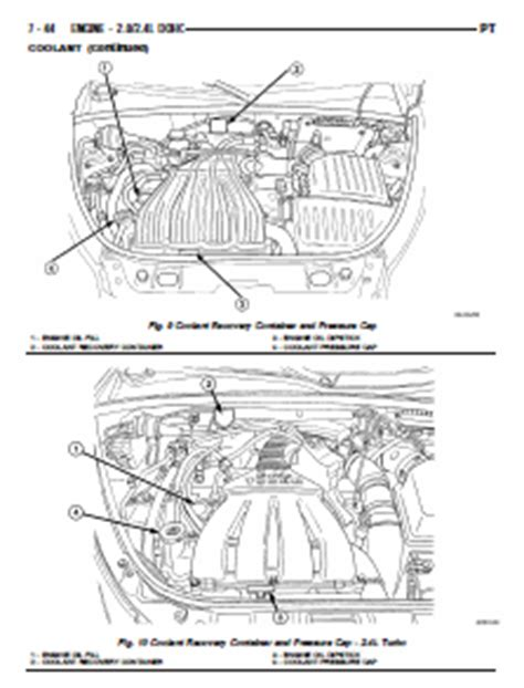 pt cruiser sport service repair manual factory