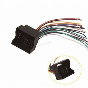 Aftermarket Radio Stereo Wire Harness Nav Power Plug For