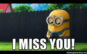 Funny I Miss You Memes and Images for Him and Her - I Miss ...