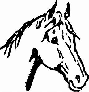 Horse Shoe Clipart Black And White | Clipart Panda - Free ...