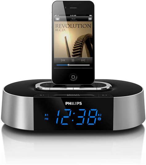 Alarm Clock radio for iPod/iPhone AJ7030D/37 | Philips