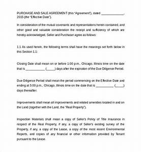 land purchase agreement template 16 download free With contract for sale of land template