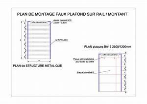 Faux Plafond Autoportant : faux plafond autoportant forum d 39 entraide ~ Nature-et-papiers.com Idées de Décoration
