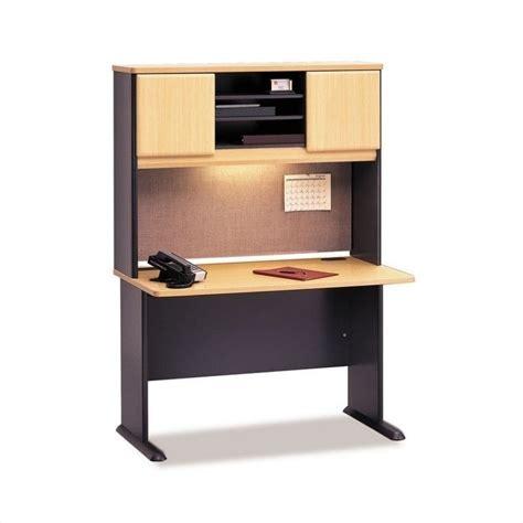 bush series a desk bush business series a 48 quot computer desk with hutch in
