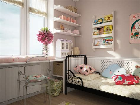 etagere murale chambre fille colorful rooms with plenty of playful style