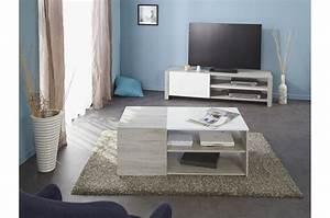 ensemble salon design bois et laque blanche With laque blanche pour meuble bois