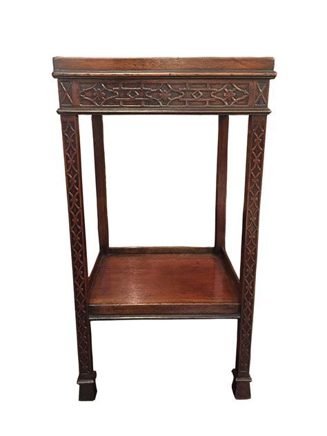 mahogany end tables carved mahogany chippendale style side table circa 1820 3956