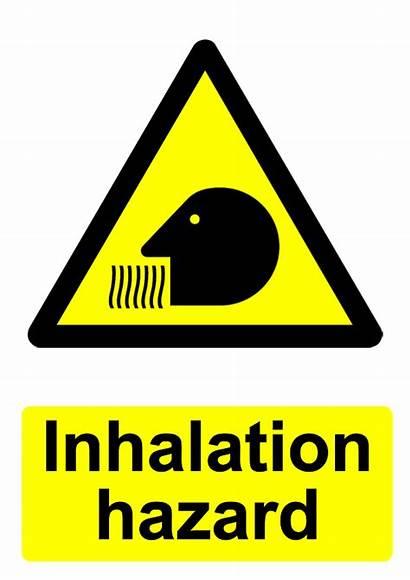 Hazard Warning Inhalation Sign Signs Printable Radiation