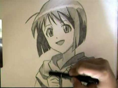 draw animecomo dibujar anime shinobu love hina