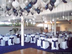mint green chair sashes navy blue wedding reception table decoration ideas photograp