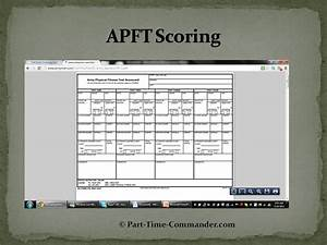 Army Apft Score Chart Apft Scoring How The Apft Is Scored Citizen Soldier