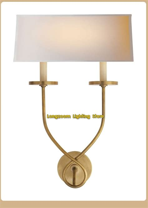 hot sale courty usa brass wall lights antique copper