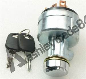 6 Terminal Wire Ignition Switch 7y3918 With 2 Keys For