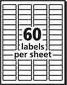 avery templates 18660 - avery matte frosted clear address labels for