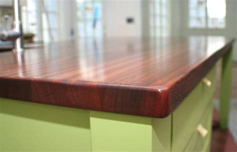 Corian Thickness Countertop Thickness Mahogany Wood Counter 1 3 4 Inches