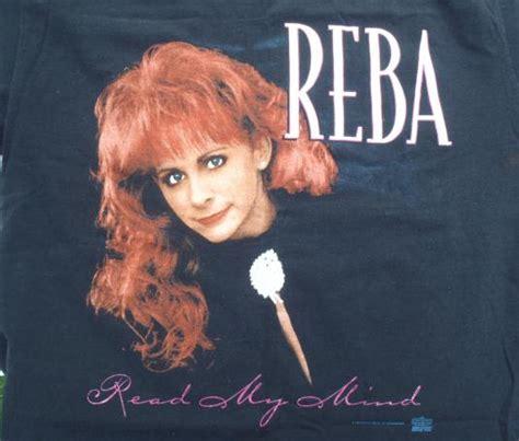reba mcentire read my mind vintage 1994 reba mcentire read my mind concert t shirt l