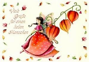 Viele Bilder Aufhängen : postkarte viele gr e f r einen lieben menschen schreib ~ Lizthompson.info Haus und Dekorationen