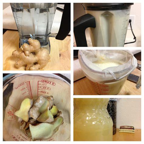 ginger juice water