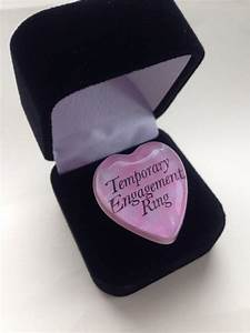temporary engagement ring the heart bandits blog With temporary wedding rings