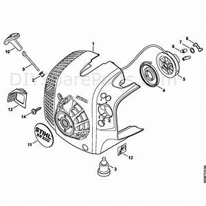 Stihl Br 200 Backpack Blower  Br 200  Parts Diagram  E