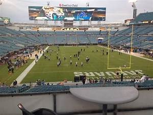 Tiaa Bank Field Level 2 100 Level Home Of Jacksonville