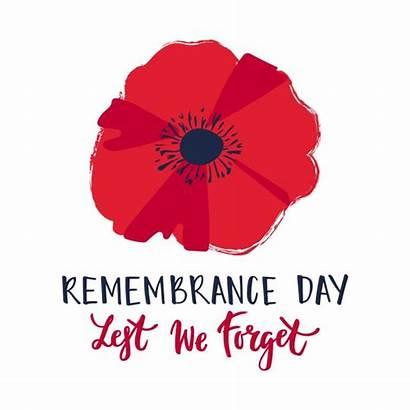 Poppy Remembrance Remember Flower Bright Symbol Shutterstock