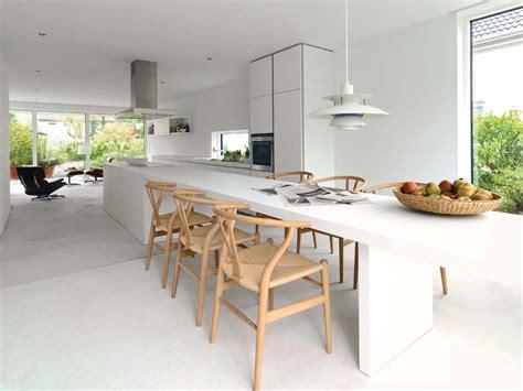 grande cuisine moderne aménager à la maison une cuisine moderne au design sobre et élégant design feria