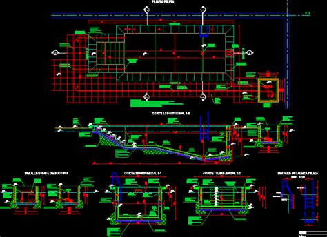 Detalles alberca en AutoCAD   Descargar CAD gratis (800.83