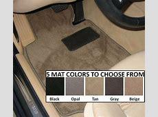 1996 2002 BMW Z3 Floor Car Mats 2 Piece Fronts