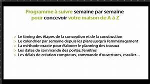 Maison Des Travaux : planning de travaux pour construire sa maison youtube ~ Melissatoandfro.com Idées de Décoration