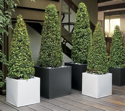 galvanized steel planters turn your patio into a stylish outdoor lounge 1189