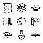 Fabric Features Icons Icon Elements Miscellaneous Material