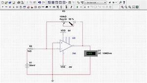 Opamp Circuit Design 1  Design And Multisim Simulation Of