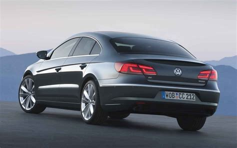 The 2013 Volkswagen Cc Is A Sexy Sedan Wearing A Sports