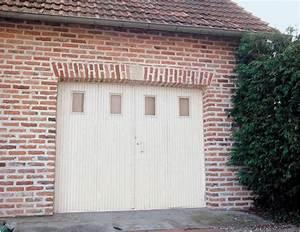 Porte De Garage Pliante À La Française 4 Vantaux : porte de garage 4 vantaux bois trouvez le meilleur prix sur voir avant d 39 acheter ~ Nature-et-papiers.com Idées de Décoration