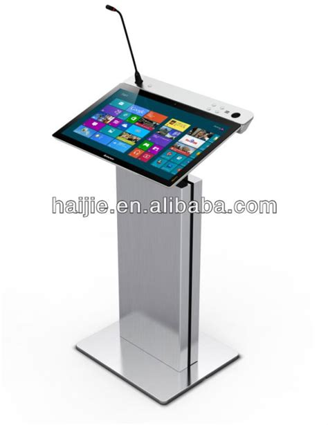 Laptop Table Stand by Desk Table Computer Table Multimedia Podium Rostrum