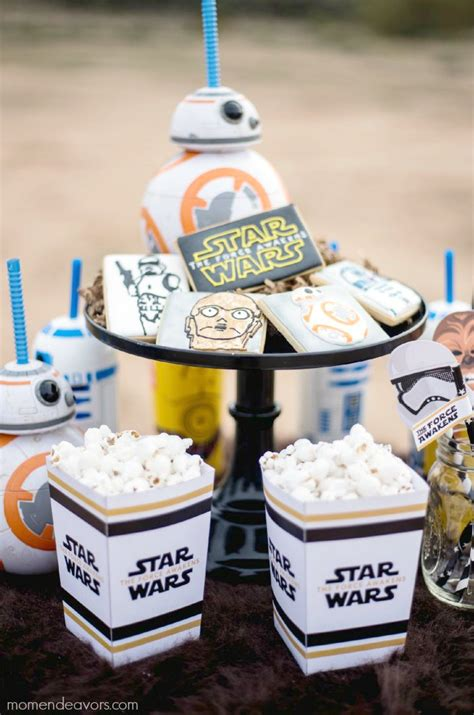 Star Wars The Force Awakens Movie Party