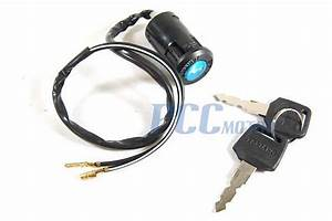 2 Wires Key Ignition Switch Super Pocket Dirt Bike Atv Scooter