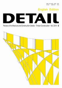 DETAIL English 022014 Timber Construction By DETAIL Issuu