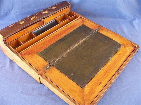 antique portable writing desk vintage lap  writing desk