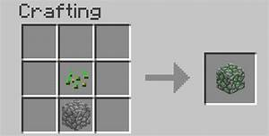 Craftable Grass And Mossy Cobblestone Mod Minecraft Mod