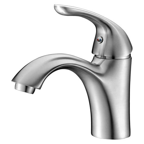 faucet placement for kitchen sink anzzi clavier series single hole single handle mid arc